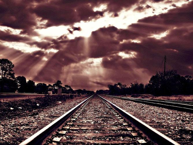 Vasúti sín.