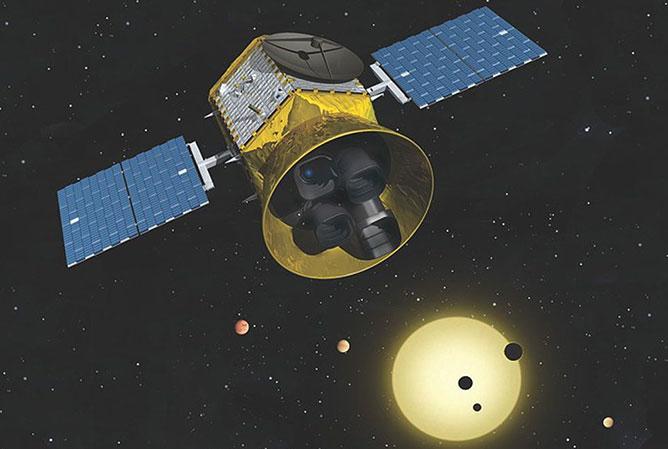 NASA műhold.