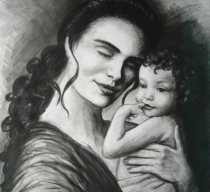 Anyai szeretet.