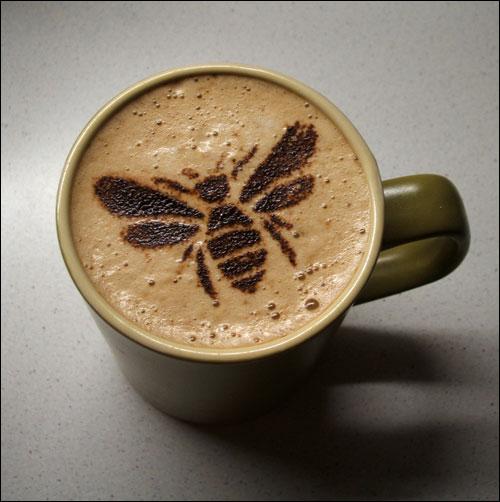 bee coffee.