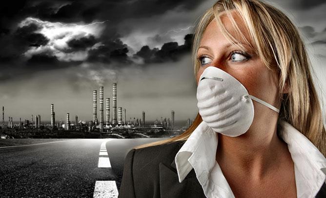 Légszennyezés.