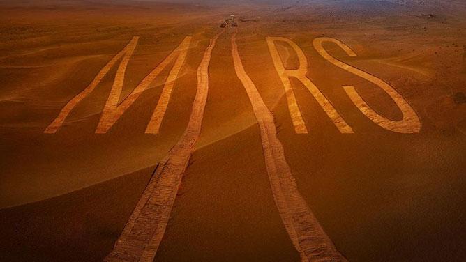 Utazás a Marsra.
