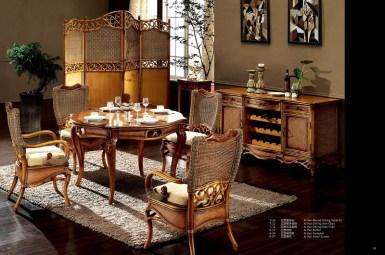 Arthur Rattan Dining Suite