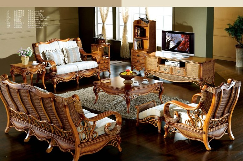 Arthur Classic Sofa Set