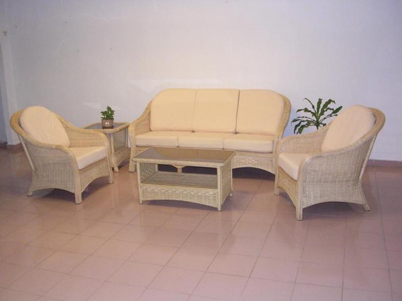 Hawaii Wicker Sofa Set