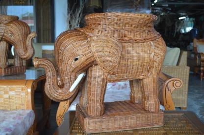 Rattan Elephant