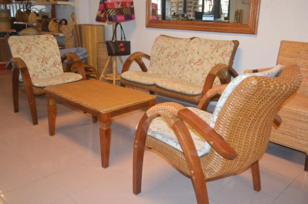 Santai Wicker Sofa Set