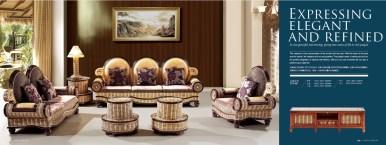 FengWu Rattan Sofa