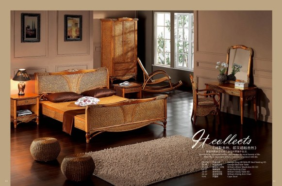George Rattan Bedroom Suite