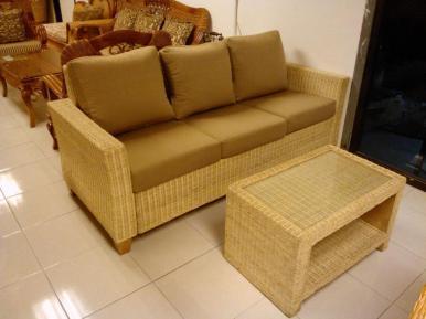 Hampton 3-seater & Coffee Table