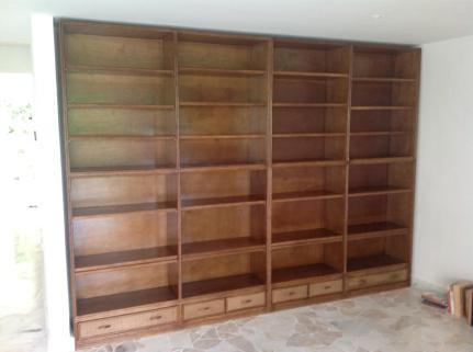 Rattan Book Shelf 09