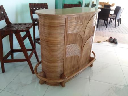 Rattan Bar Counter