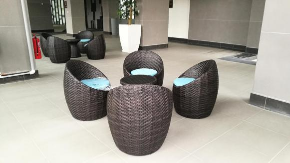 Outdoor round chair @ marinox