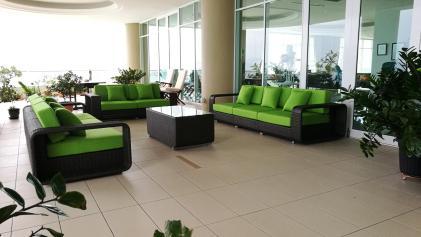 Outdoor sofa set @ 8 Gurney