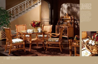 Newman Rattan Dining Suite A