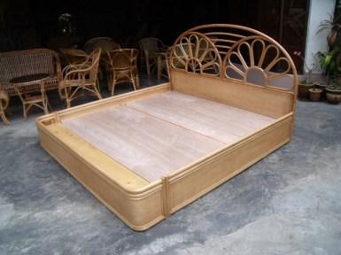 Rattan Bed 05