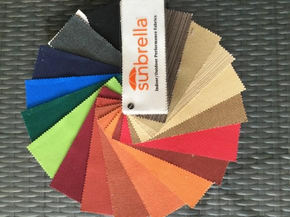 Sunbrella color chart 1