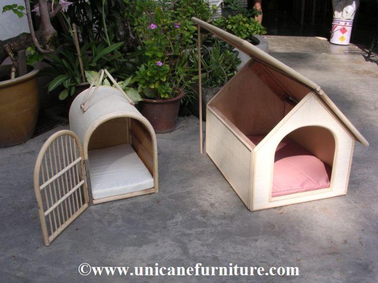 rattan pet house 1004