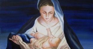maria e gesù bambino