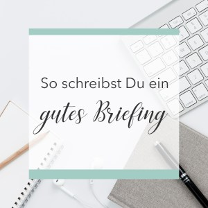 Briefing für GrafikerInnen