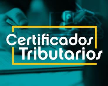 Certificados Tributarios UNICATÓLICA