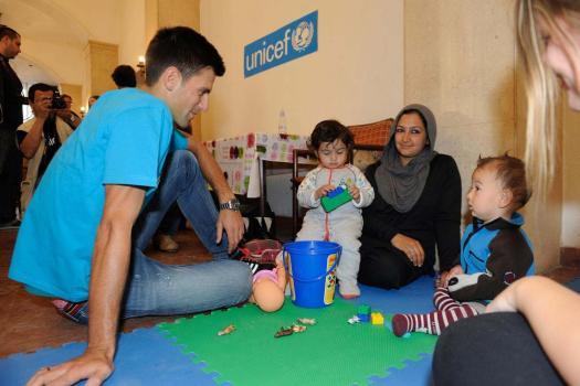 UNICEF Alumni: Novak Djokovic | UNICEF