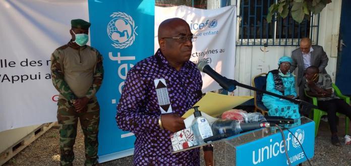Le Ministre de la santé, Médecin colonel Remy Lamah