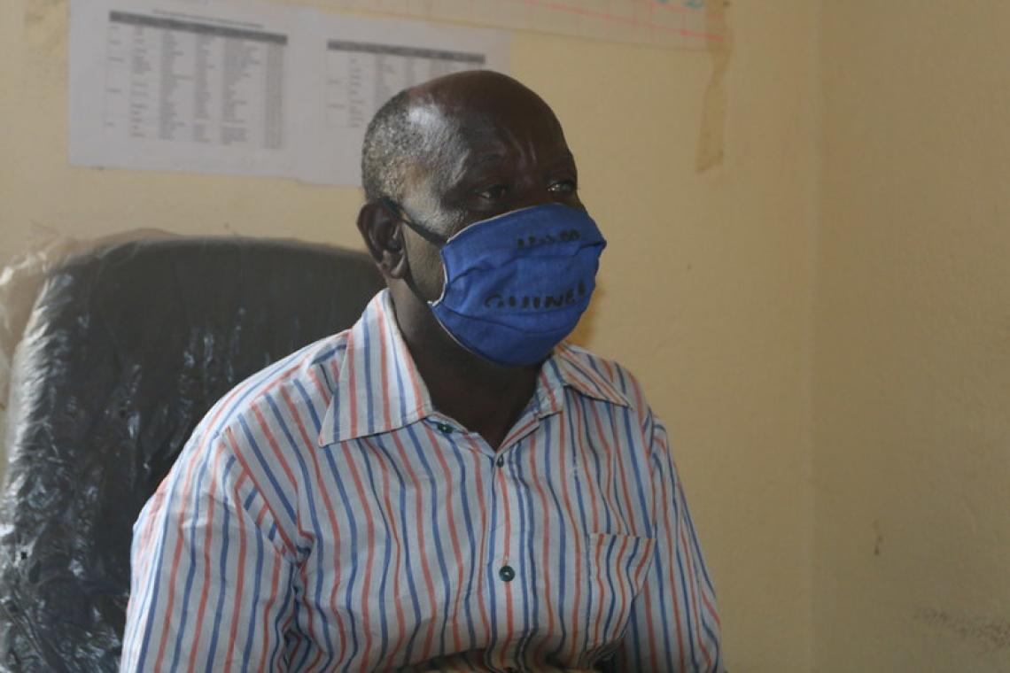 Albert Sékou Tolno, secrétaire général de la commune rurale de Bolodou