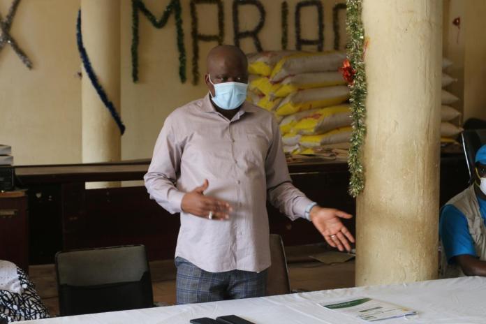 Dr Bouna Yattassaye, Directeur général adjoint de l'Agence Nationale de Sécurité Sanitaire (ANSS)