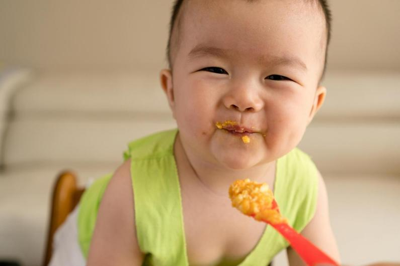 Image result for baby eating