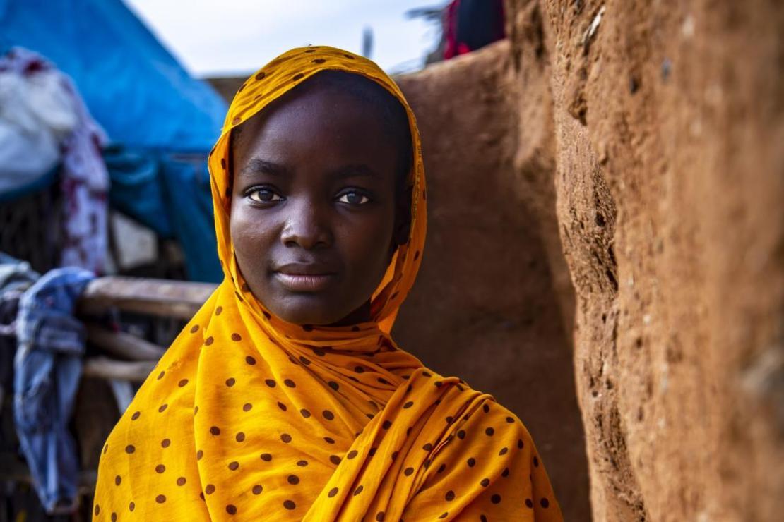 Hasseniya, de 16 años, era una niña cuando contrajo matrimonio en Mauritania.