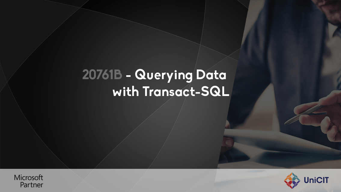 20761C – Querying Data with Transact-SQL