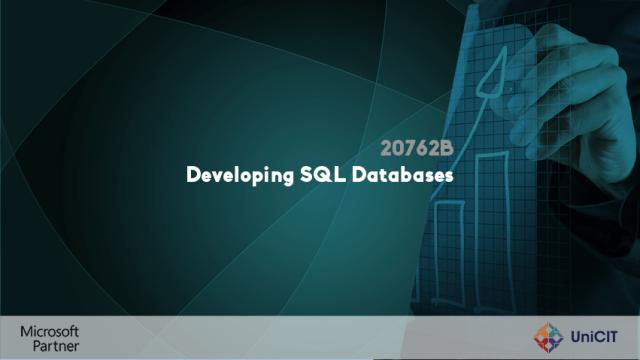 20762B – Developing SQL Databases