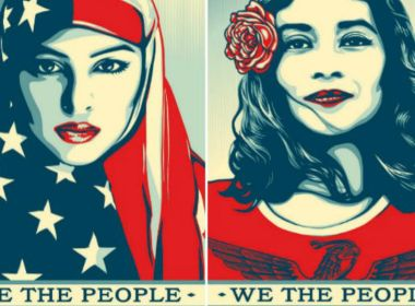 Shepard Fairey - we the people - unicornia dreams - sexismo - diseño