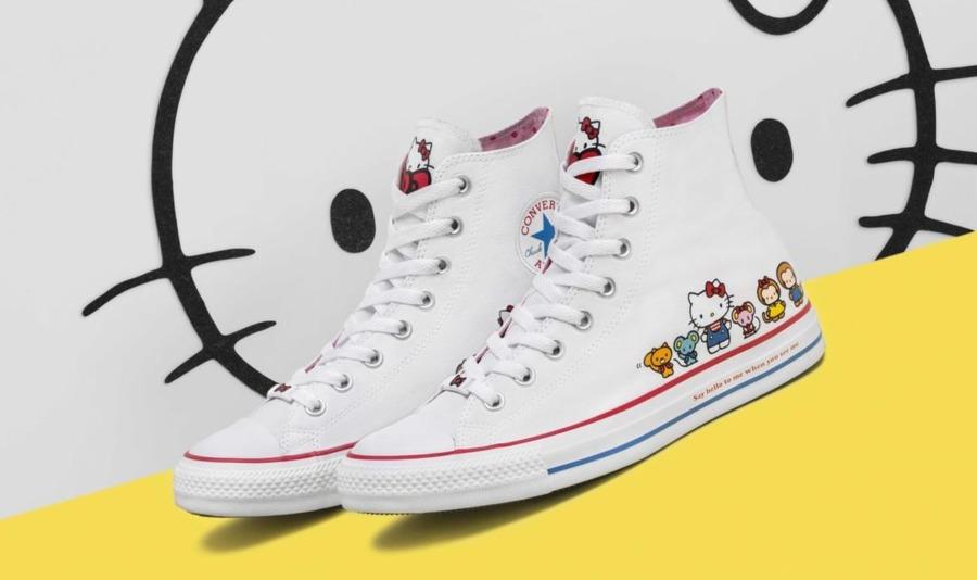 Las nuevas Converse sorprenden con divertido diseño de Hello