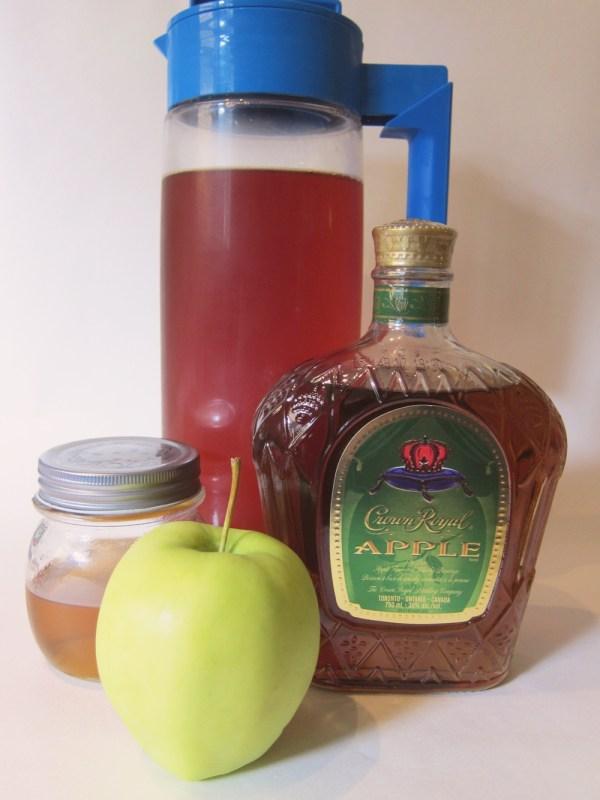 cinnamonapplewhiskyteaingredeints