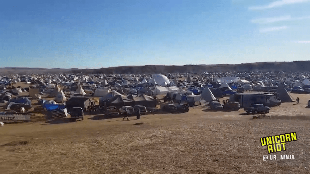U.S. Army Corps of Engineers Announces Intent to Close Oceti Sakowin #NoDAPL Camp