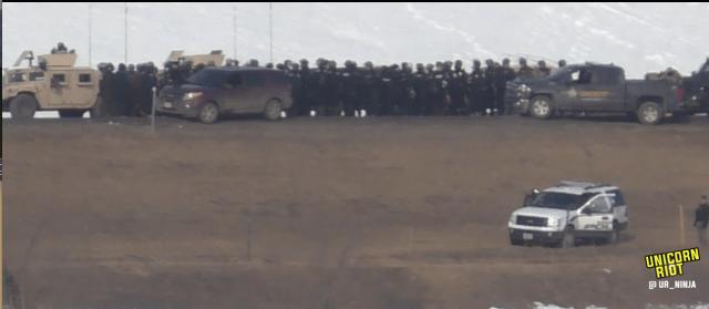 North Dakota Dismantles #NoDAPL Oceti Camp F23-hmv6