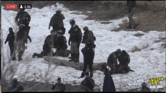 North Dakota Dismantles #NoDAPL Oceti Camp F23-wrap1