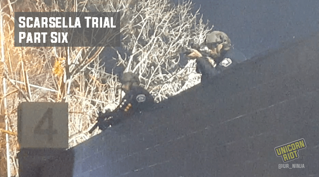 Scarsella Trial: Part Six – Defense Attempts to Discredit Protesters Using Police Videos