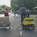 """OhHellNo"" Bike Ride, Community Self-Defense in Action"