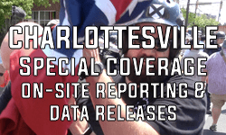 Charlottesville Special Coverage On-Site Reporting and Data Releases