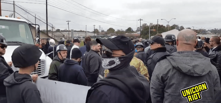 Frustrated Neo-Nazis Attack Locals After Bungled Rallies in Tennessee