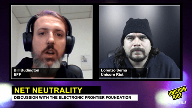 FCC Repeals Net Neutrality: Interview with Electronic Frontier Foundation
