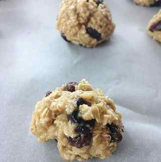 Chewy Oatmeal Raisin Cookies Without Butter