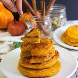 The Best Pumpkin Pancakes Recipe