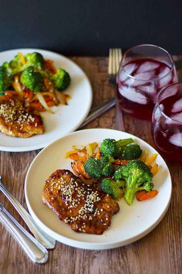30 minute honey sesame chicken unicorns in the kitchen this 30 minute honey sesame chicken is what you need for dinner tonight its forumfinder Choice Image