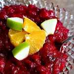 Homemade Cranberry Apple Sauce + Video
