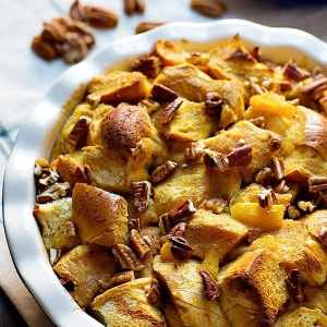 The Best Pumpkin Bread Pudding Recipe