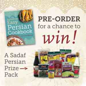 The Enchantingly Easy Persian Cookbook and Pre-Order Giveaway!